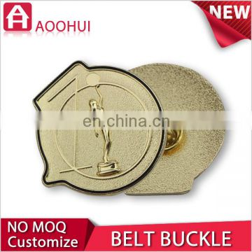 Zhongshan new design gold plating automatic buckle belt