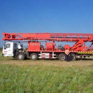 1000m truck mounted water well drill rig