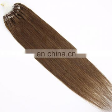Youth Beauty Hair 2017 top quality 8A brazilian human hair micro ring hair extension in silky staright wholesale price