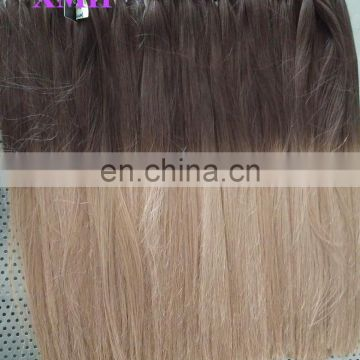 Ombre Color Italian Keratin Tipped Human Hair Extensions