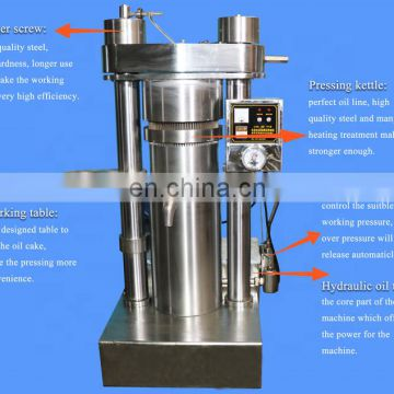 Big promotion hydraulic oil expeller machine