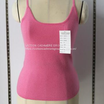 Woman 100%  Cashmere Camisole