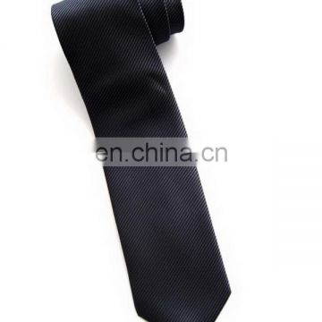 New professional men polyester jacquard woven necktie