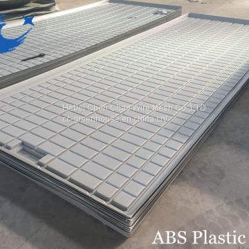 Planting Greenhouse/Agricultural System Table Ebb And Flow Rolling Benches( with gray/white tray)