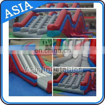 New Sport Games Giant Inflatable Obstacle Mad House / Inflatable Obstacle Running Race For Adults