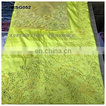 Newest george wrappers african lace silk indian george fabric