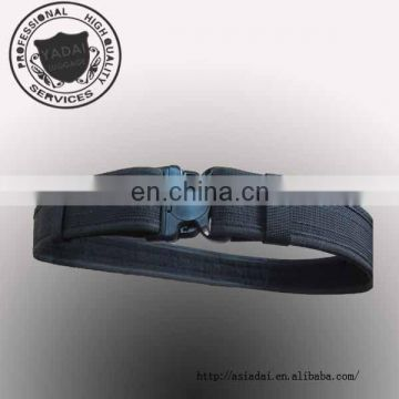 Black Nylon military webbing belt in plastic runner and release buckle