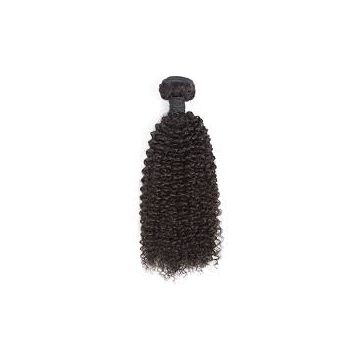 Cuticle Aligned Kinky Straight Malaysian Virgin Hair Malaysian 12 Inch Full Lace