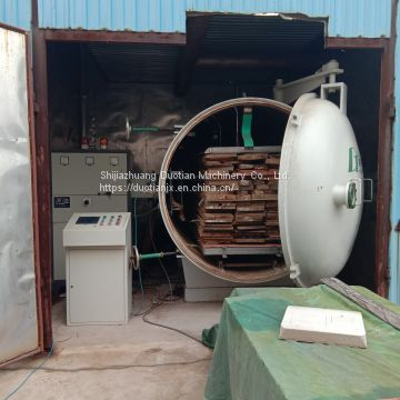 RF Timber Drying Vacuum Lumber Machine