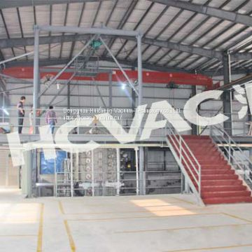 Stainless steel titanium PVD vacuum coating machine/equipment (suit for sheet and pipe) (HCVAC)