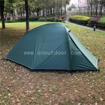Two Man Sleeping Tent, Lightweight Backpacking Tents, ZP044 Quick Setup 2 Person Camping Tent