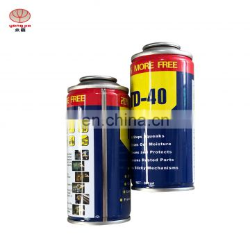 Wholesale  100ml-350ml  tin can aerosol with metal tin spray paint can  from Guangzhou
