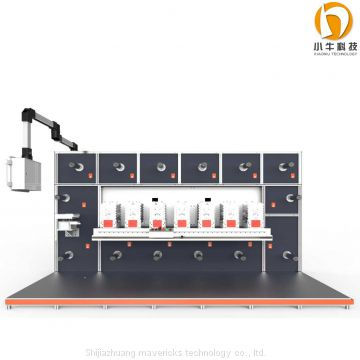 mavericks round press die cutter machine Fully automatic  Mounter Laminating machine