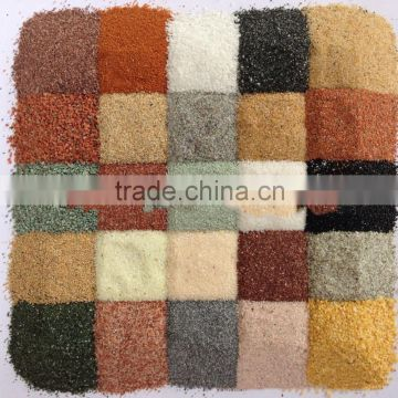 20 Years Factory Price Natural Color Fine Decorative Coloured Sand