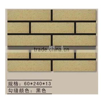 Heat resistant thin brick, white brick decorative wall tiles