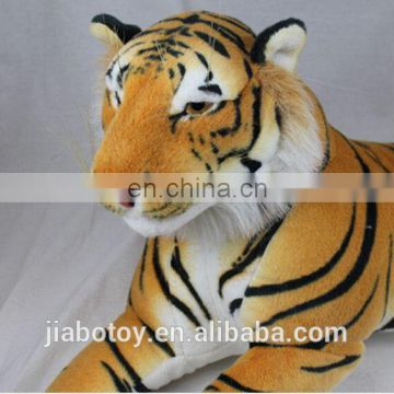 Hot Sale Life size Giant ,realistic tiger plush toy wild animal different style plush tiger posed in a realistic stance.