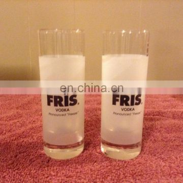 BPA free plastic disposable shot glass with customized logo/color