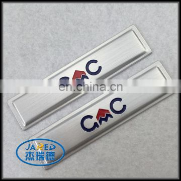 Hot sale new style sign boards design brushed aluminum label