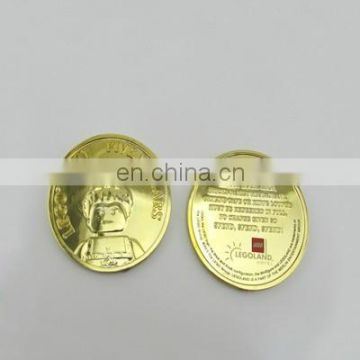 Custom promotional commemorative coin