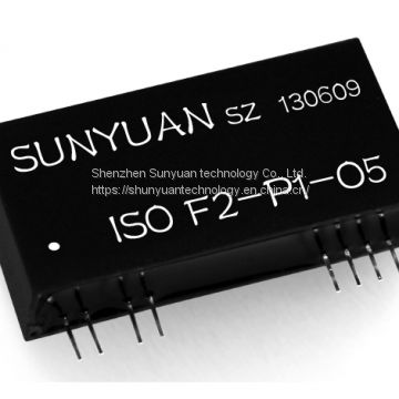 Frequency to Analog Signal Converter (ISO F-P-O)