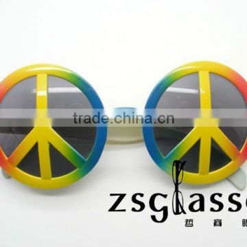 Eco-friendly Plastic Novelty Party Glasses/Party Sunglasses/Party Supplies