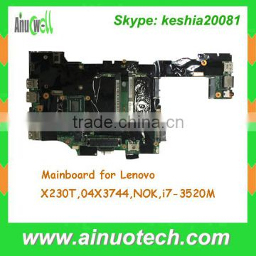I7-3520 WITH CPU FAN LENOVO THINKPAD X230 TABLET SYSTEM BOARD 04X3744