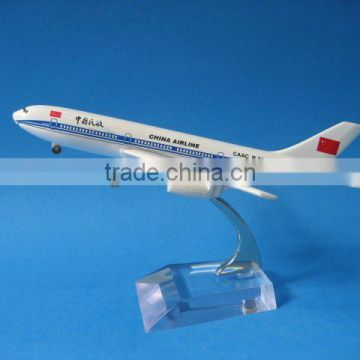 Handmade Metal airplane model for business gift