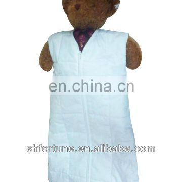 winter silk baby sleeping bag with sleeves