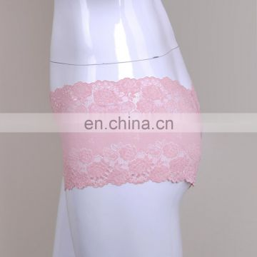 Top Sale Fashion Pink Lace Female Best Undergarments For Wedding Dress