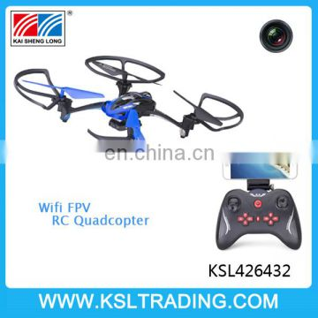 Wifi FPV Real-time Transmission skyline RC drone quadcopter with camera