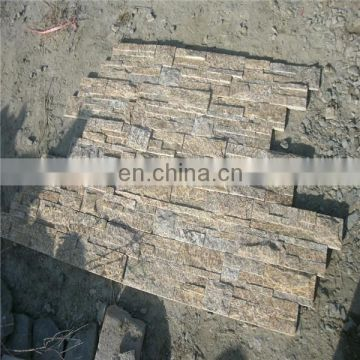 Yellow Tiger Skin stone for wall