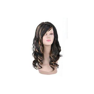 Visibly Bold Full Lace Blonde Human Hair Wigs Deep Wave