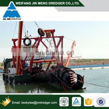 Non self Propelled River/Sea/Lake/Port Diesel Cutter Dredger Machine