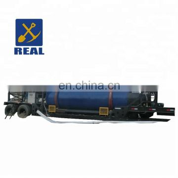 Real durable gold separator machine portable trommel