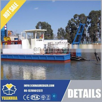 river and lake cleaning machine14 inch cutter suction dredger