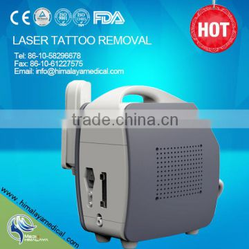 1064/532nm tattoo removal laser equipment system Q-swith Nd yag