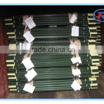 cheap barbed wire metal t fence post price metal t post metal t fencing post