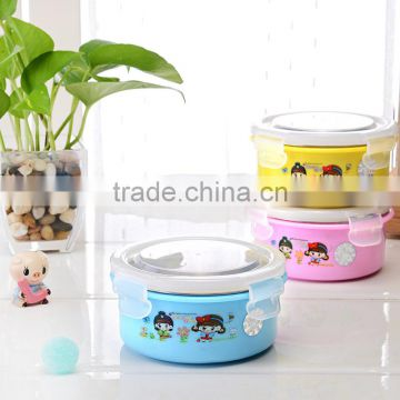 Safety Kids stainless steel Thermal Insulation Food Container