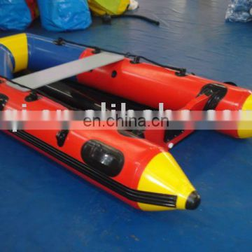 AOQI hard-wearing quality cheap price inflatable boat for promotion