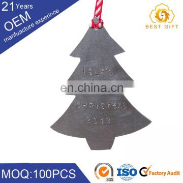 Factory direct elegant printing Chrismas decorative crafts for hanging