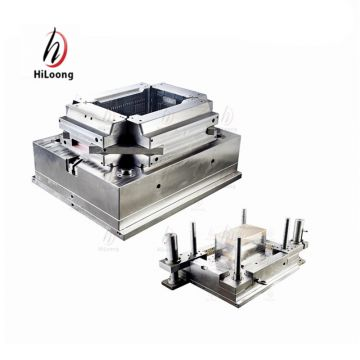 big size thin wall plastic crate mould manufacturing