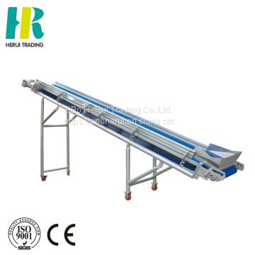 Food processing equipment fast disassemble vegetable elevator