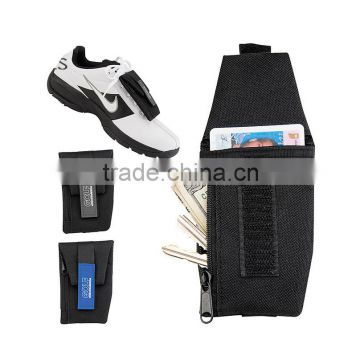 Running shoe wallet