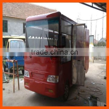 China Machinery Centre Medium fast food mobile kitchen trailer for ...
