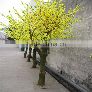 SJ201710059 silk cherry blossom tree artificial plastic cherry blossom tree