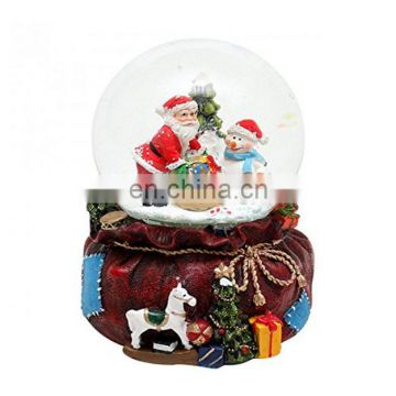 Snow Globe with snowman,santa multicolour for festival gift