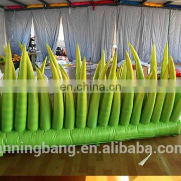 green inflatable grass for yard decoration
