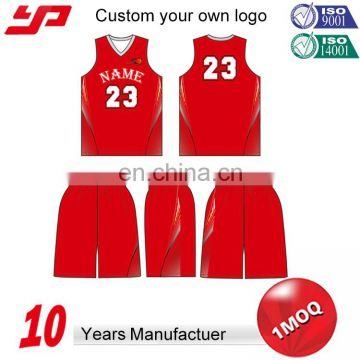 Wholesale best color black girls ladies Women Basketball Uniform design with sublimation printing