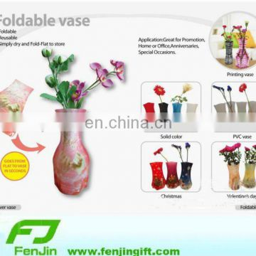 Cheap Clear Plastic Folding Vase Of Other Promotion Gift From China