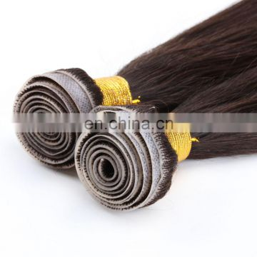 High quality 8a european no shedding no tangle hand-tied skin pu human hair extension